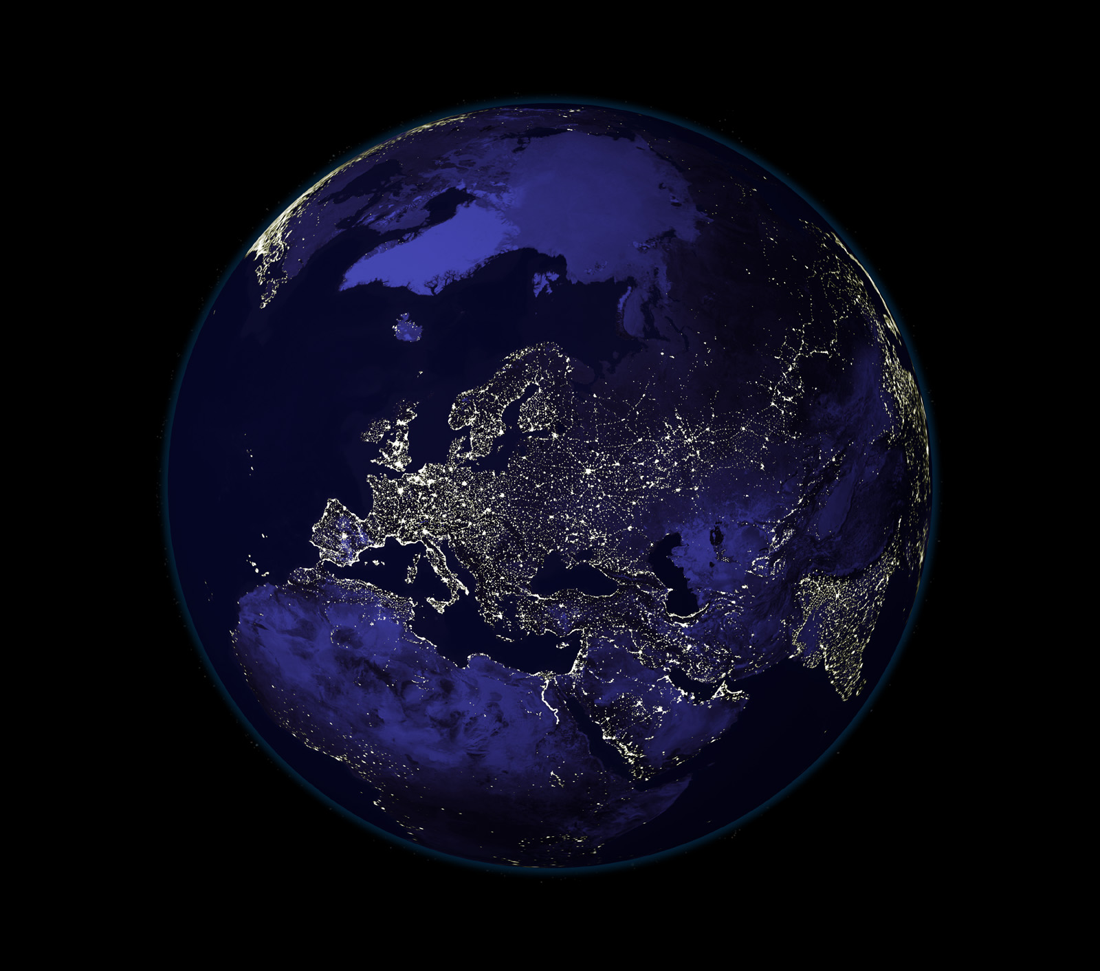nasa earth night sky - photo #31