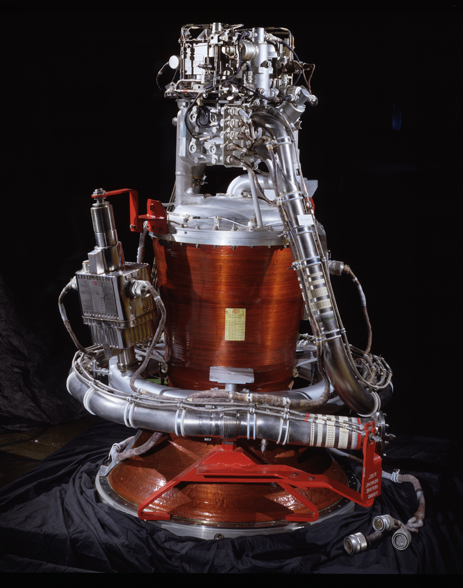 Apollo Service Module Propulsion System at the Udvar-Hazy Center