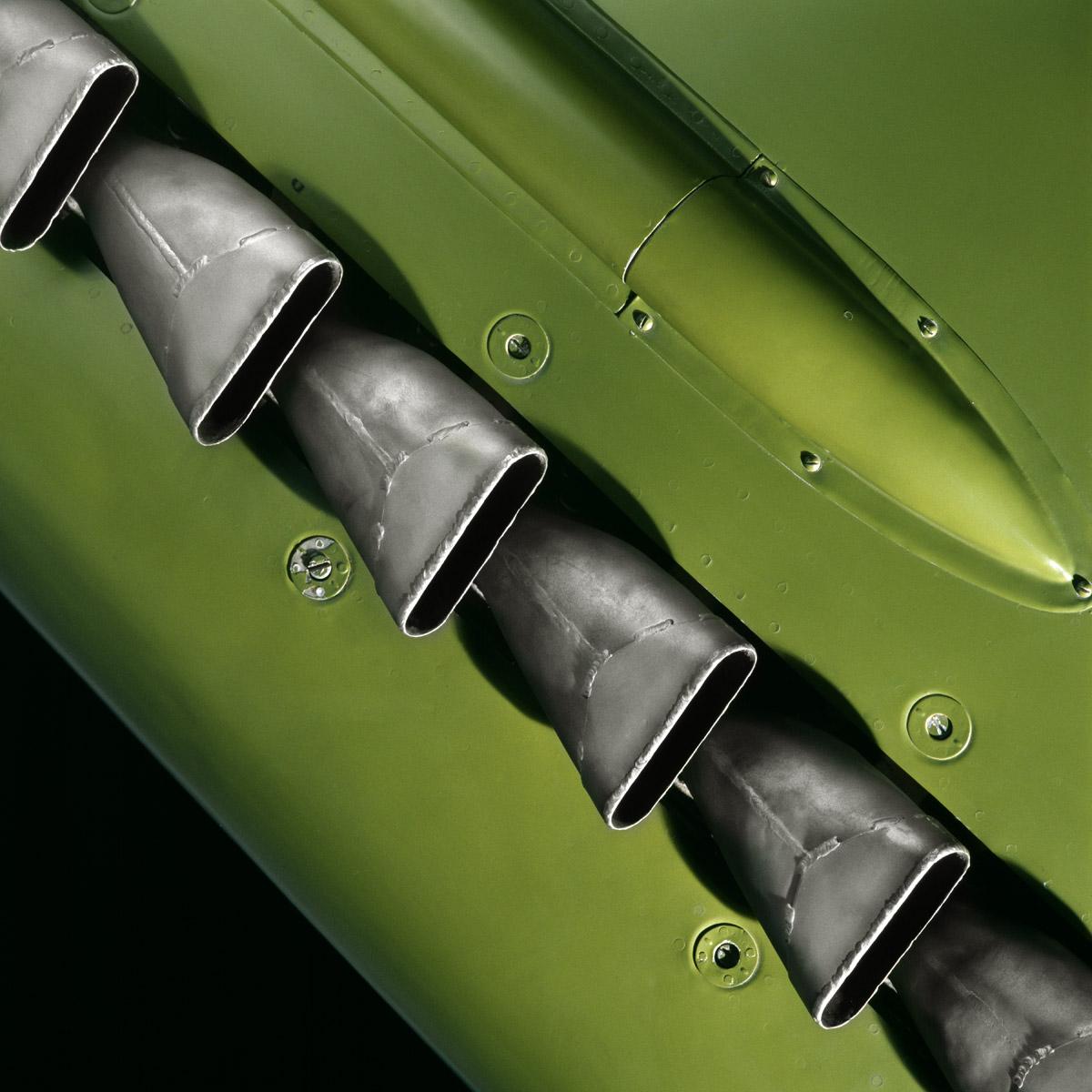 In Plane View: Supermarine Spitfire Mk. VIIc