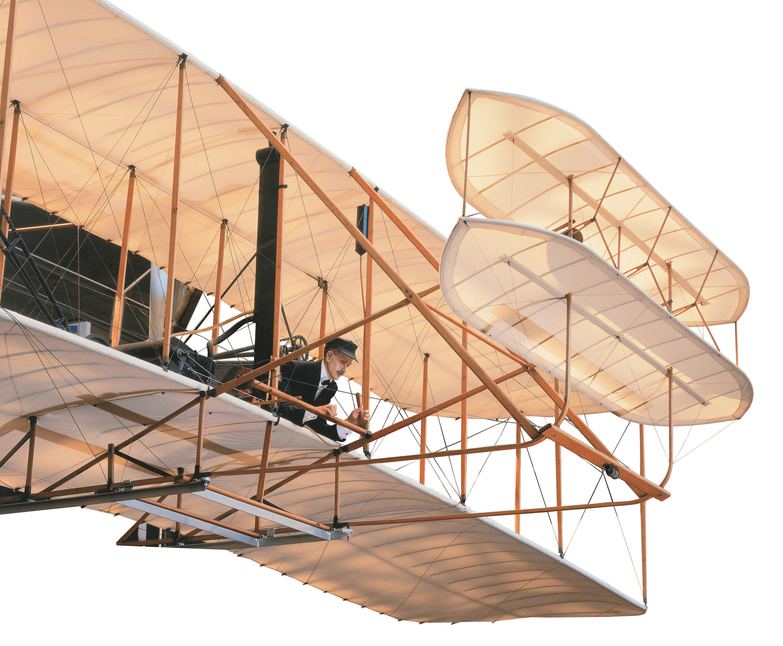 Wright Flyer in Milestones of Flight