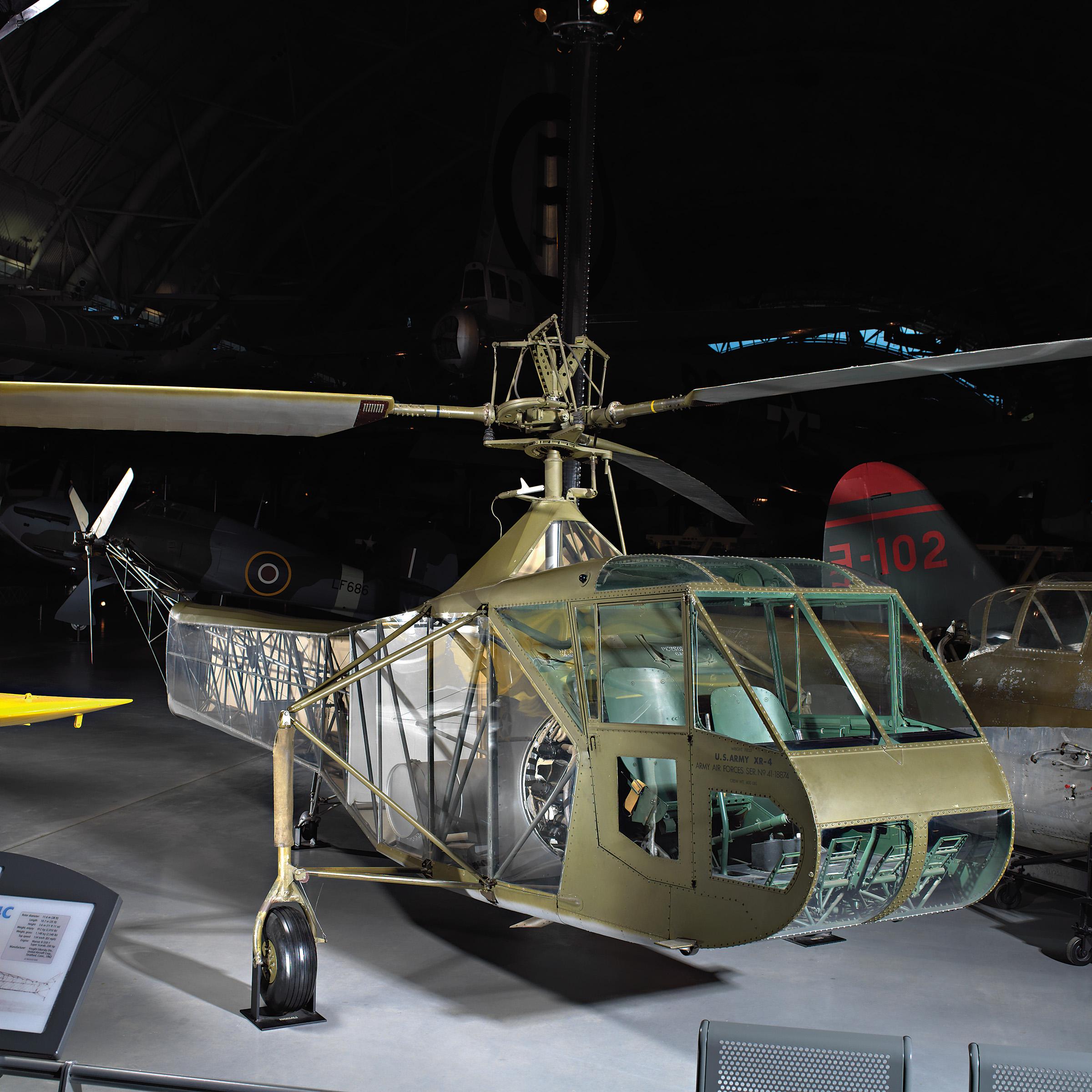 Vought-Sikorsky XR-4C at the Udvar-Hazy Center