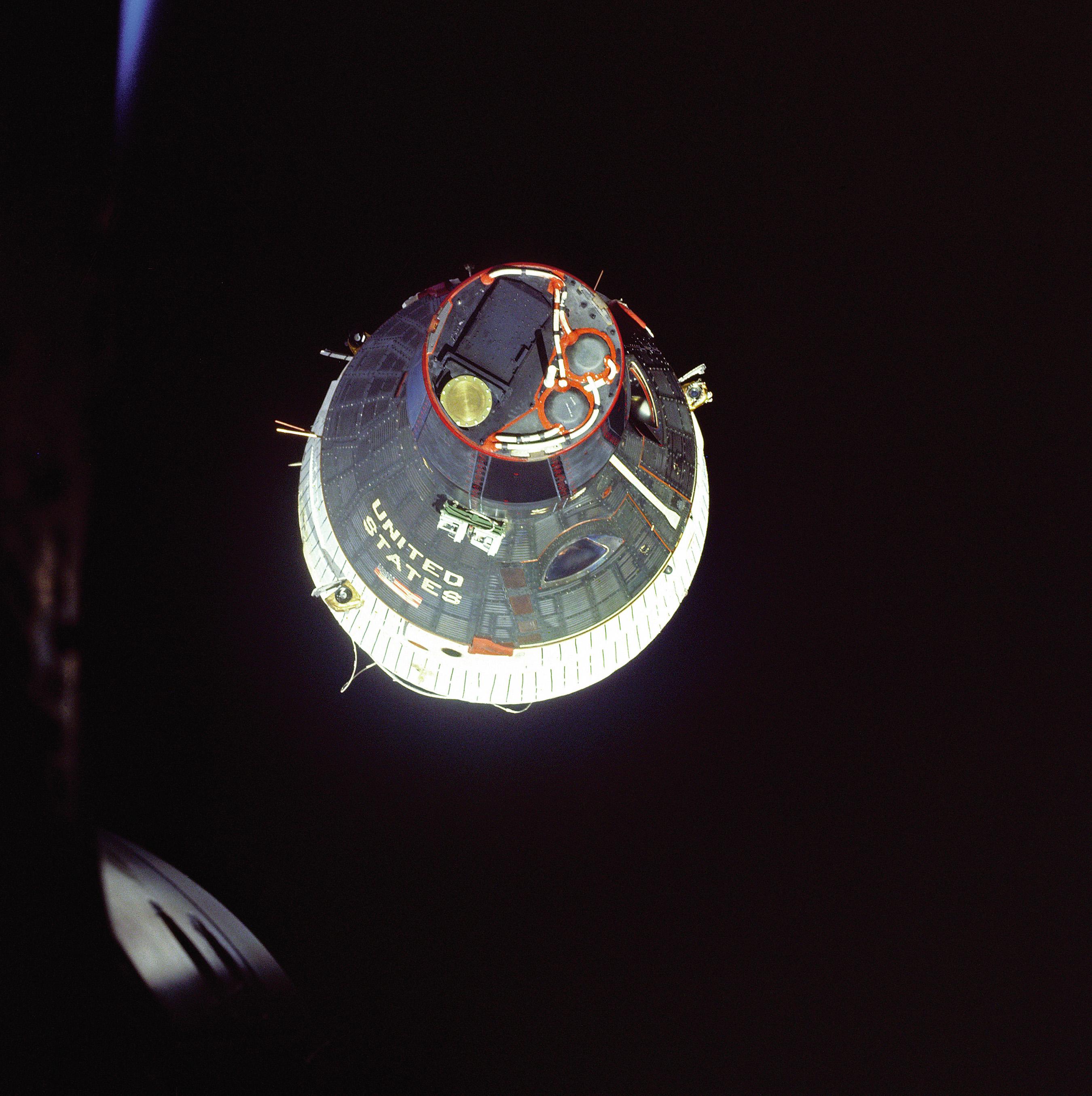 Gemini VII in Orbit