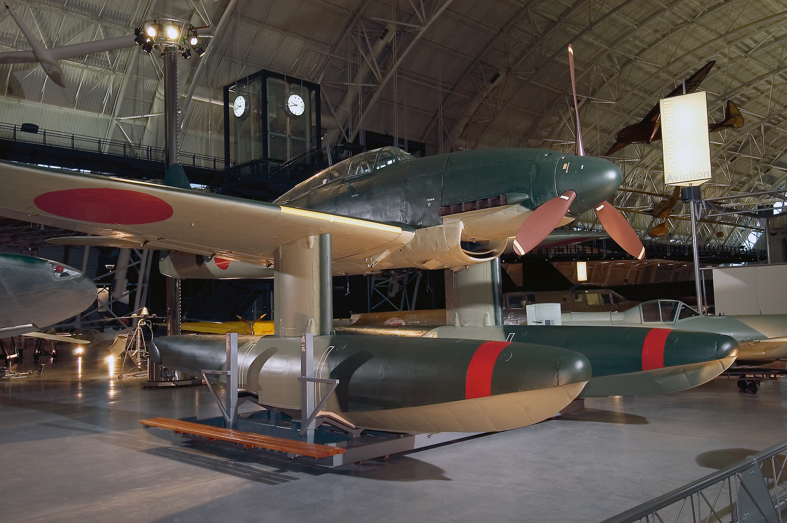 Aichi M6A1 Seiran at the Udvar-Hazy Center