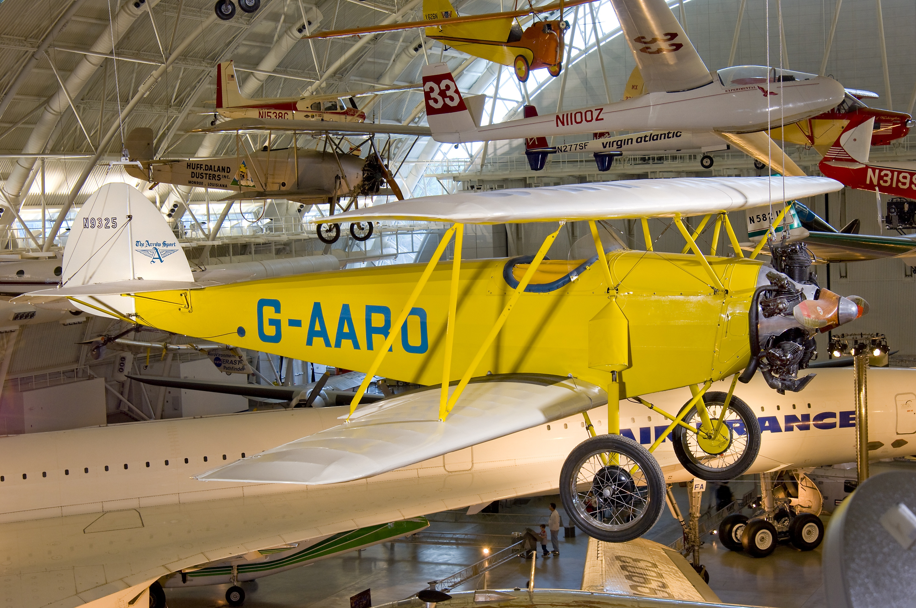 Arrow Sport A2-60 at the Udvar-Hazy Center