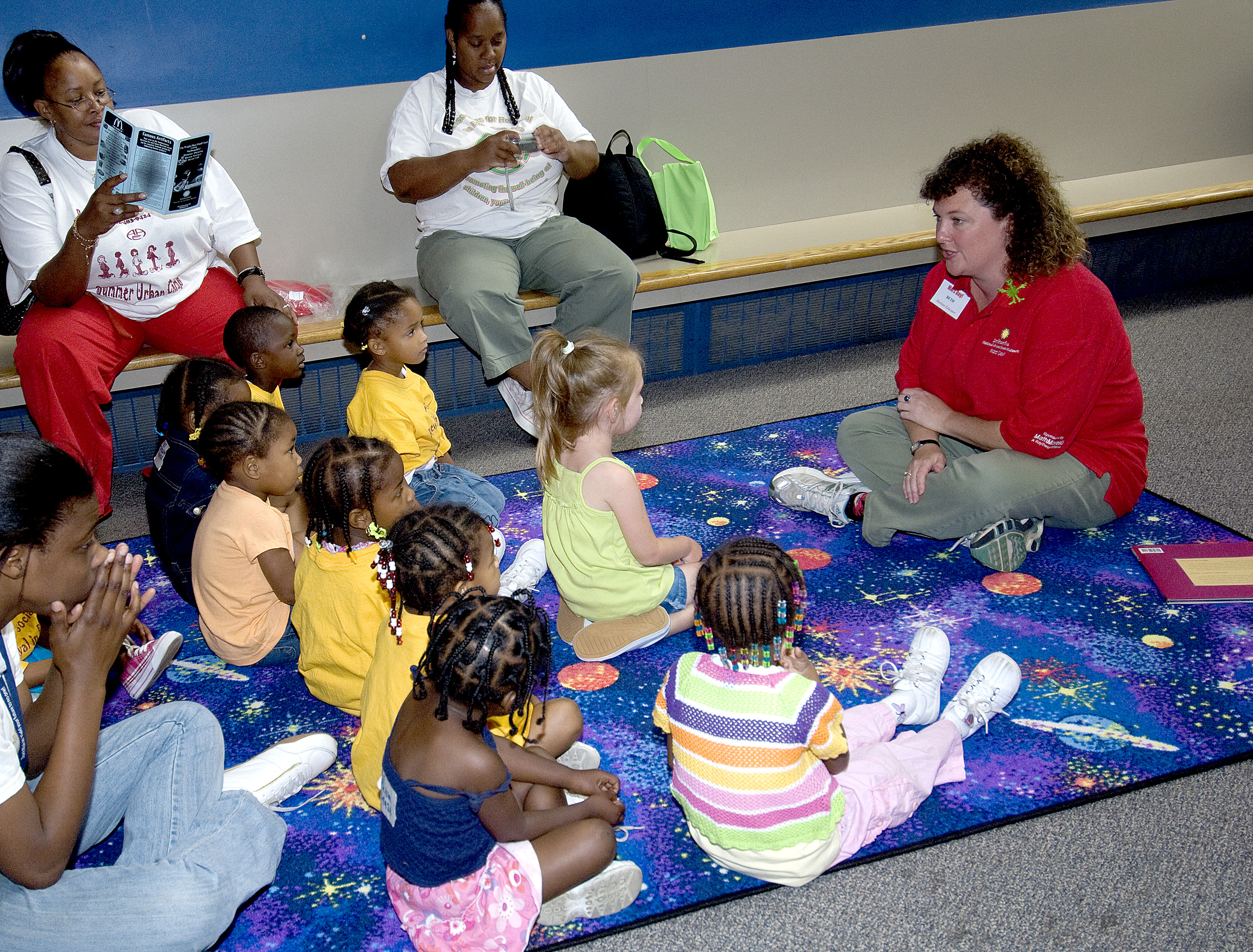 Mars Day! 2007 - Story Time