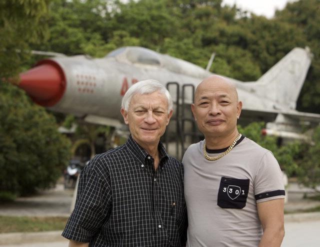 Brig. Gen. Dan Cherry USAF (ret.) and Nguyen Hong My
