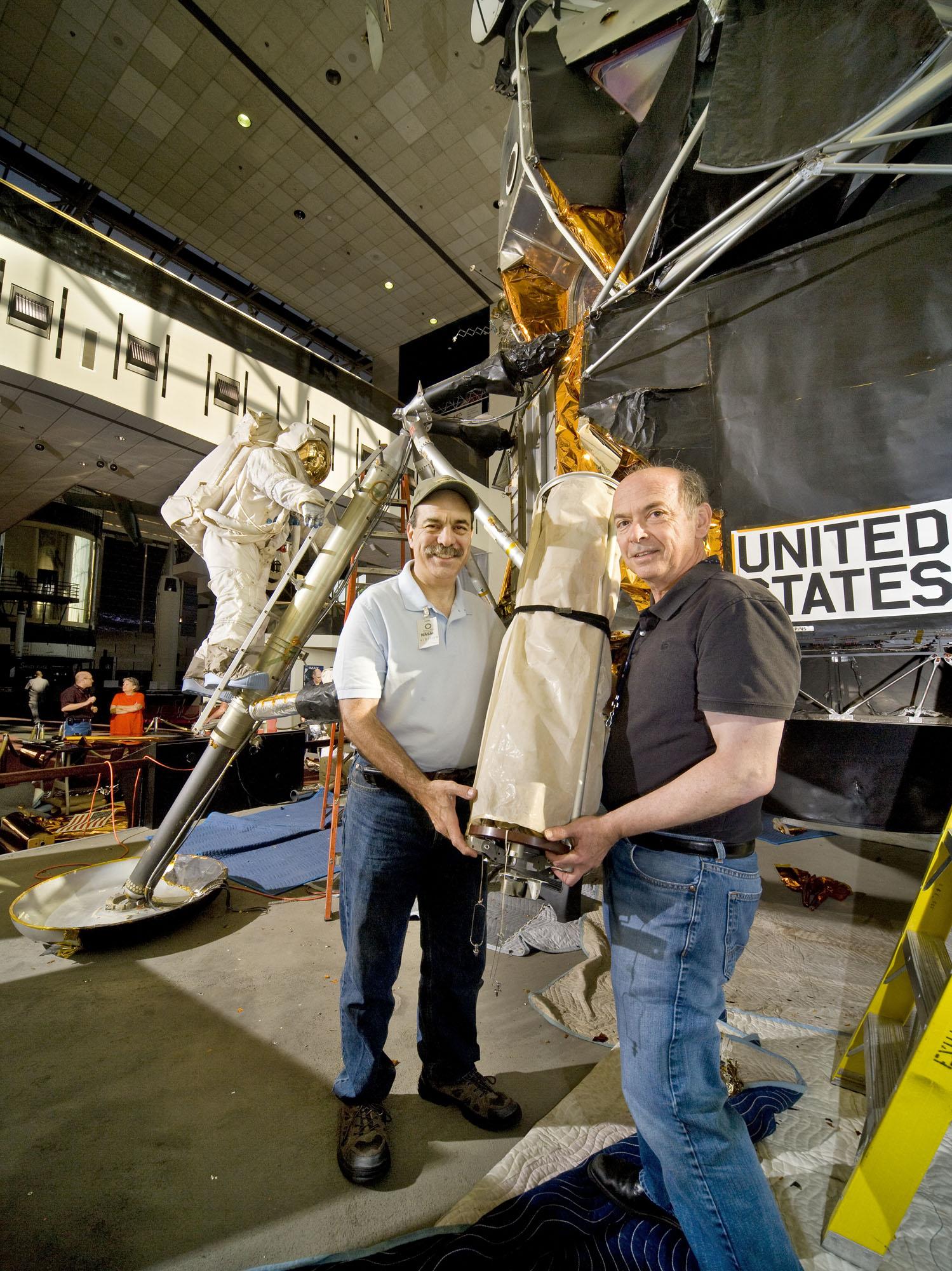 Lunar Module Restoration Auxiliary Antenna