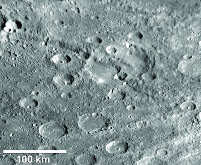 Beagle Rupes, Thrust Fault on Mercury