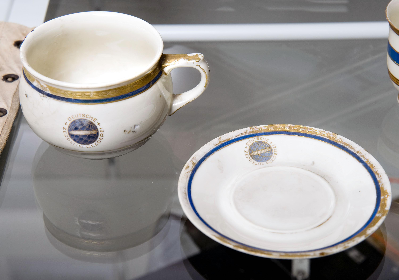 Hindenburg Cup and Saucer