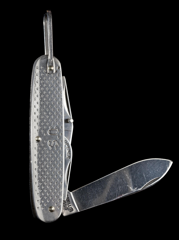 Pocket Knife, Mercury Freedom 7