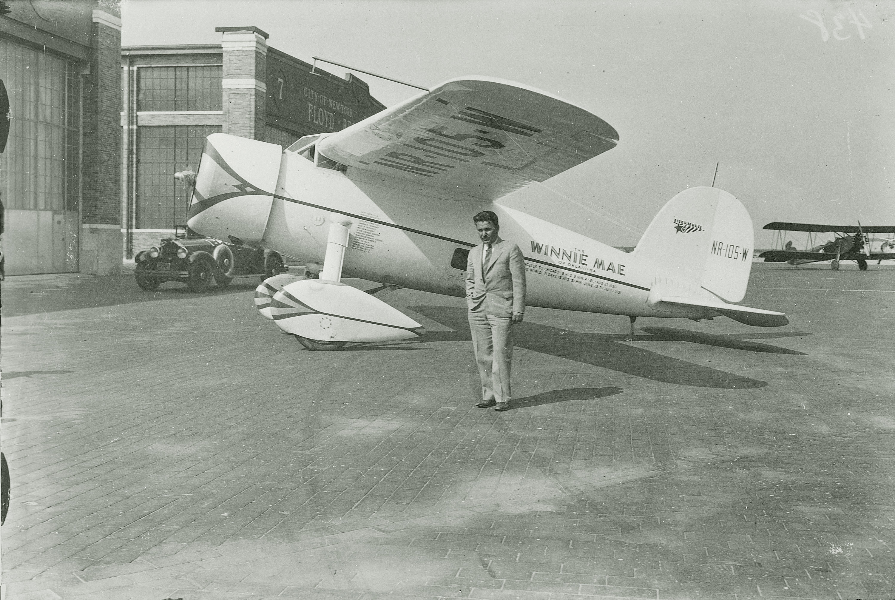 Wiley Post and Winnie Mae