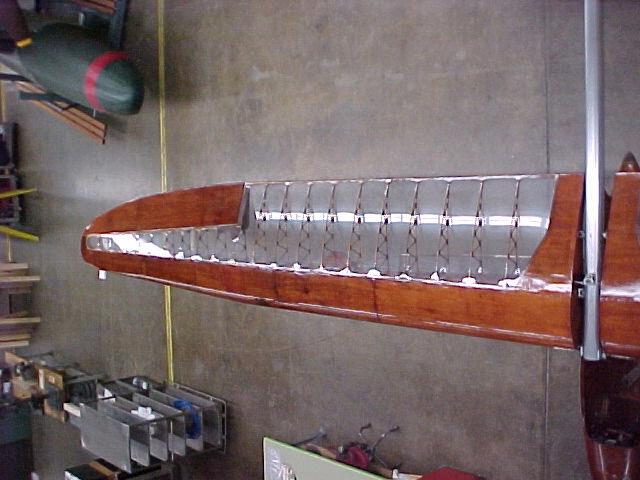 Bowlus BA-100 Baby Albatross Wing
