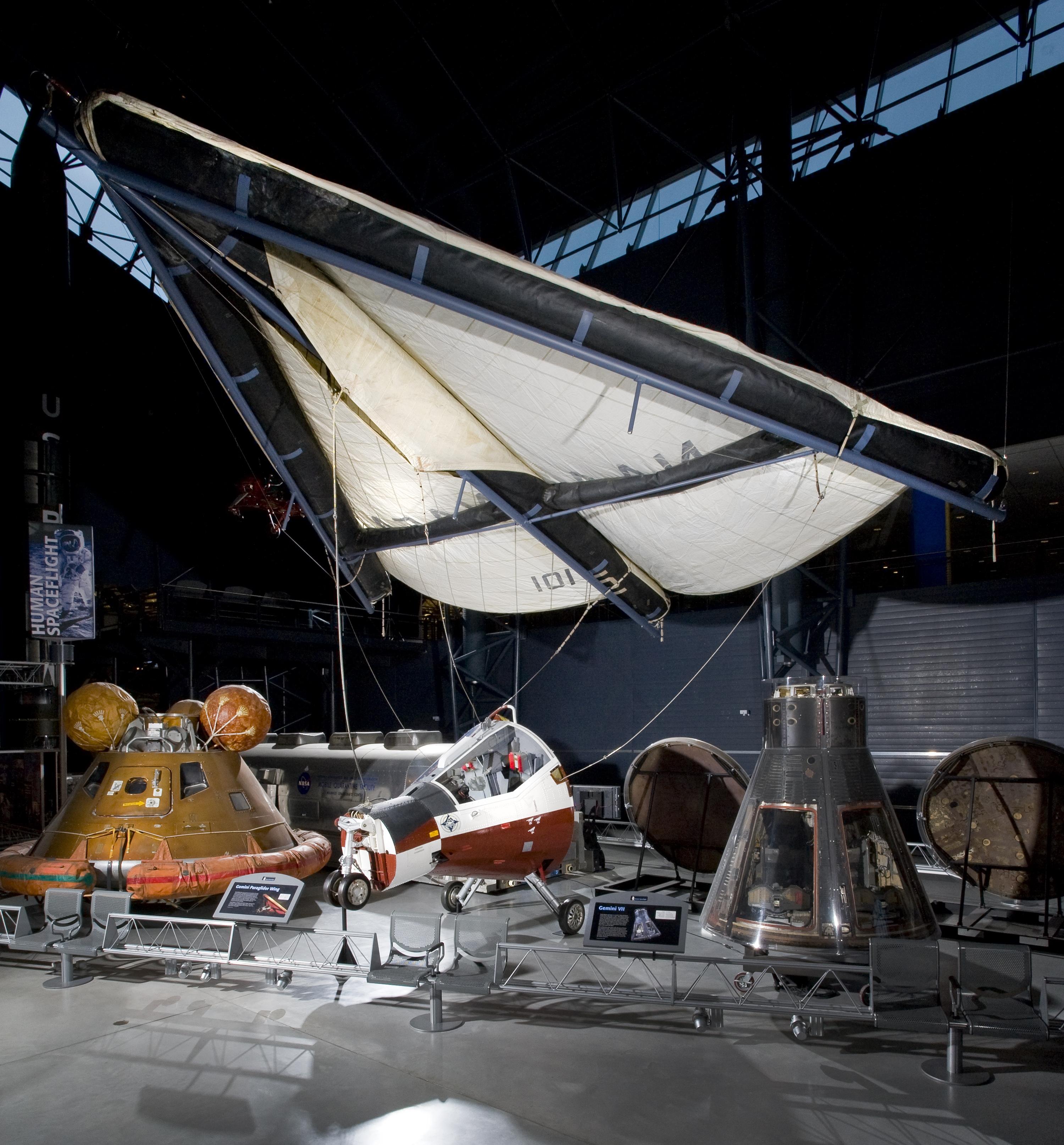 Gemini TTV-1 Paraglider Capsule