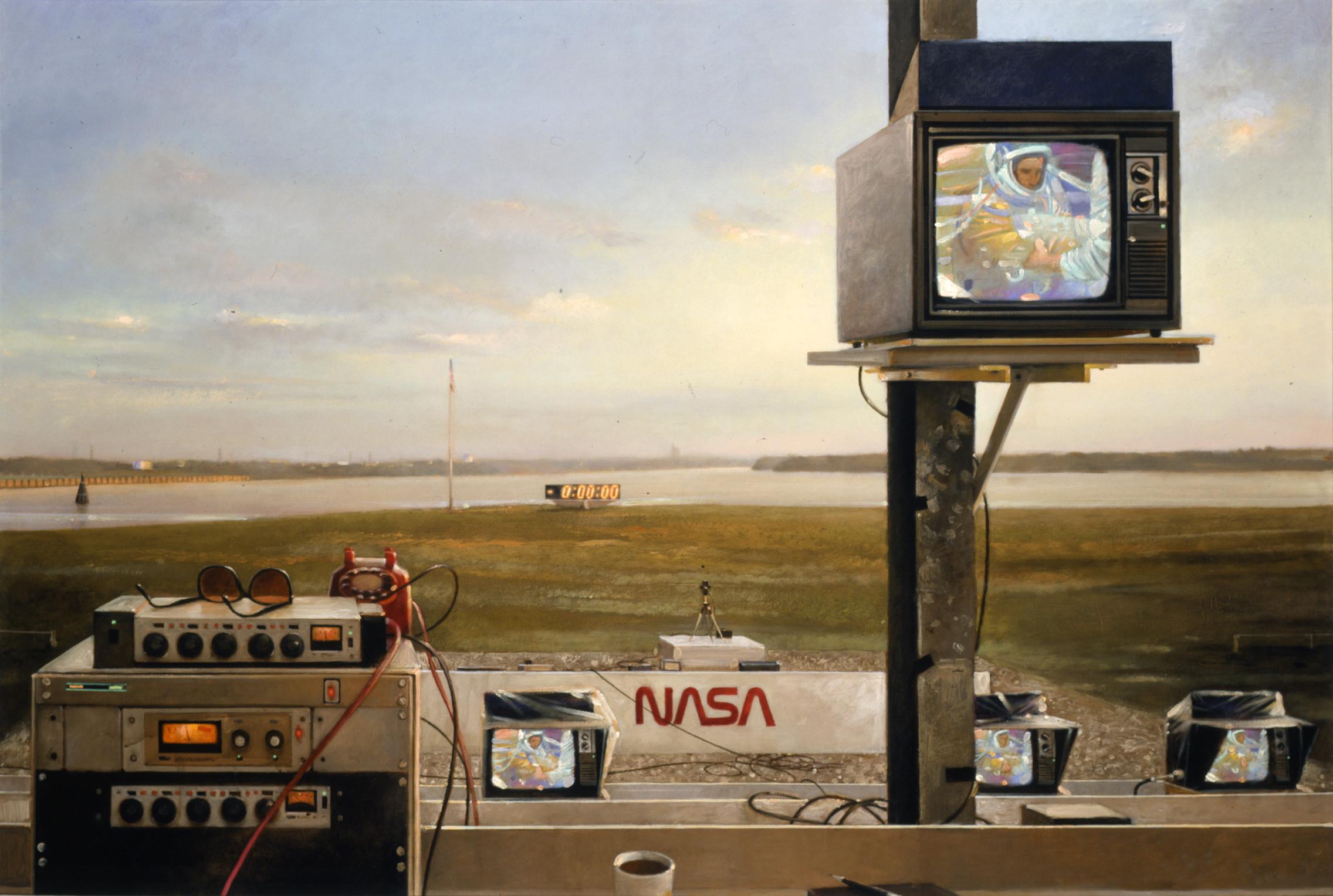 Sunrise Suit-up in NASA | Art