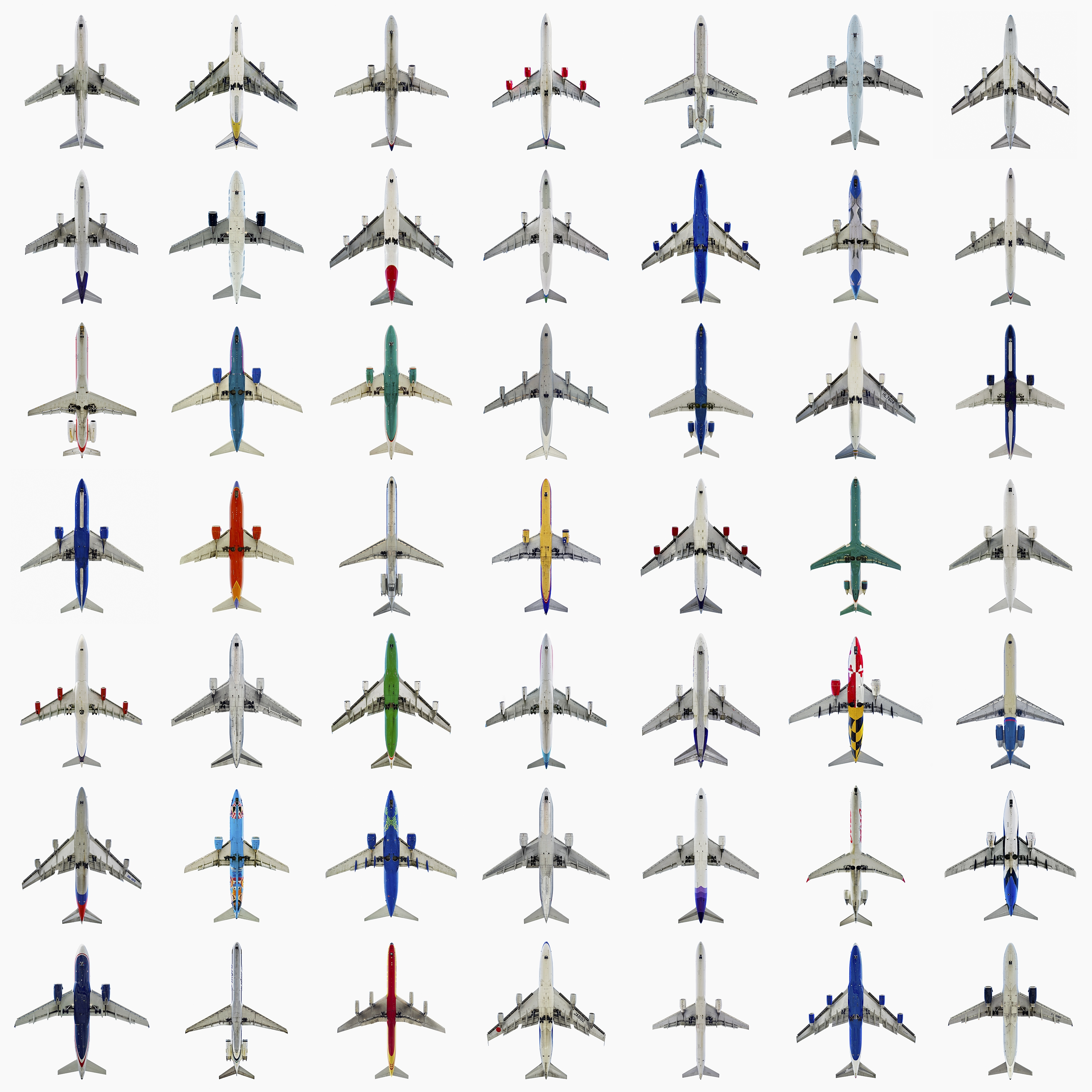 <i>49 Jets</i> on display in <i>AirCraft: The Jet As Art</i>
