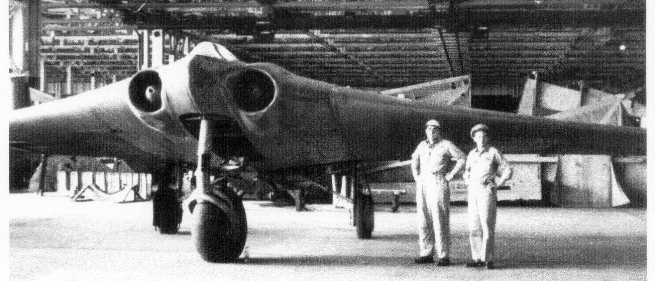 Horten from 1950