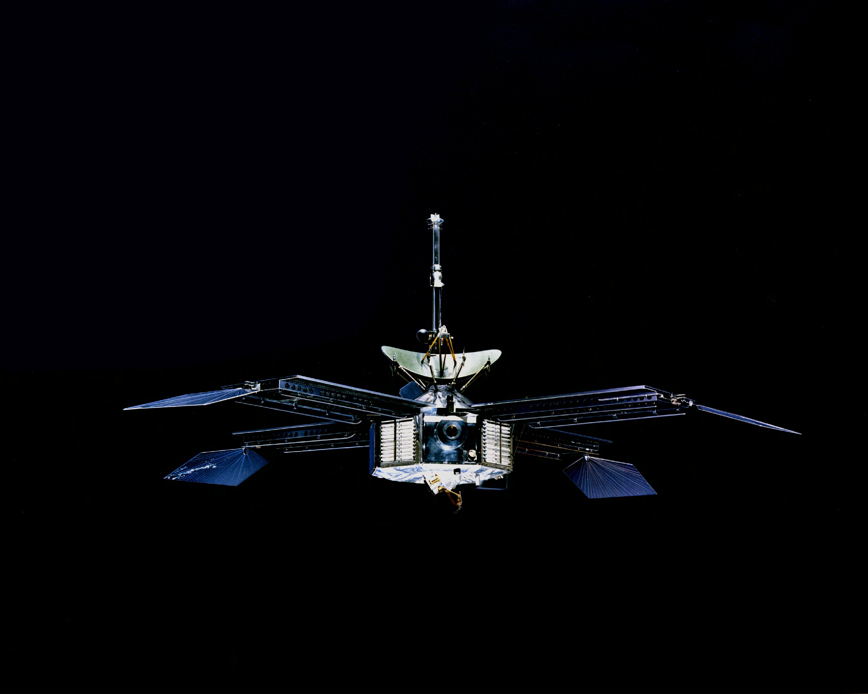 mariner 10 space probe - HD3029×2423