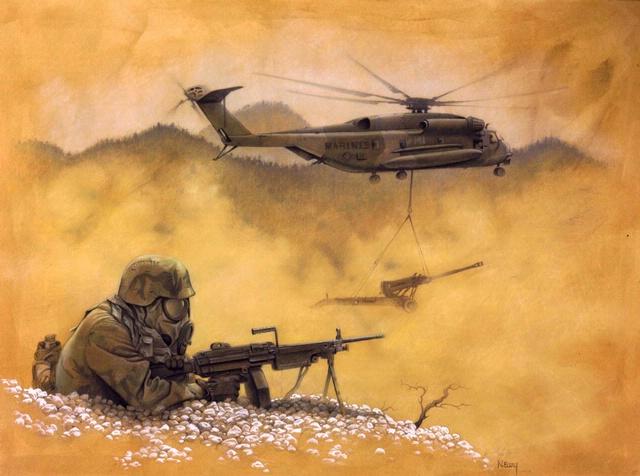 <i>Air Lift</i> in <i>Fly Marines!</i>