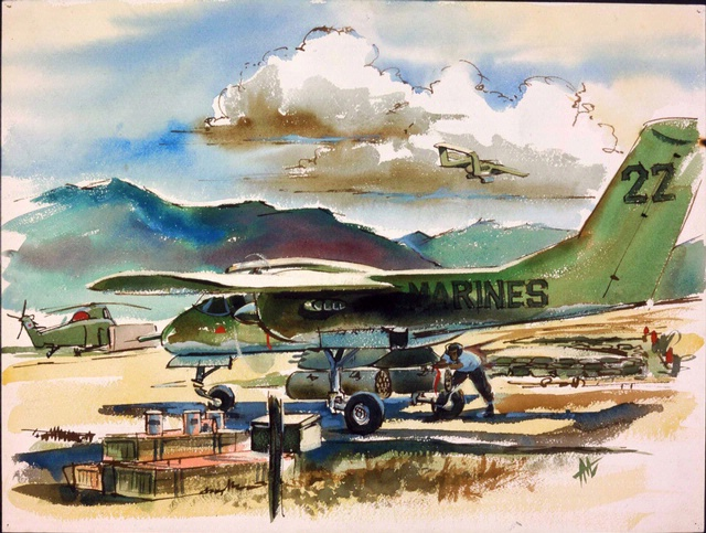 <i>Air Scouts Out </i> in <i>Fly Marines!</i>