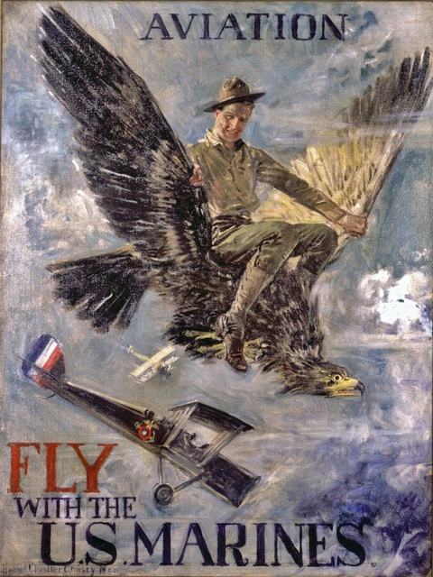 Fly with the US Marines in Fly Marines!