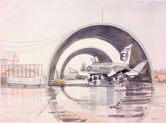 Wonder Arches, Nam Phong, Thailand in Fly Marines!