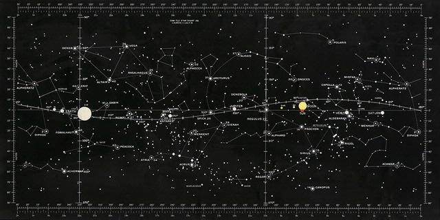 Apollo Star Chart