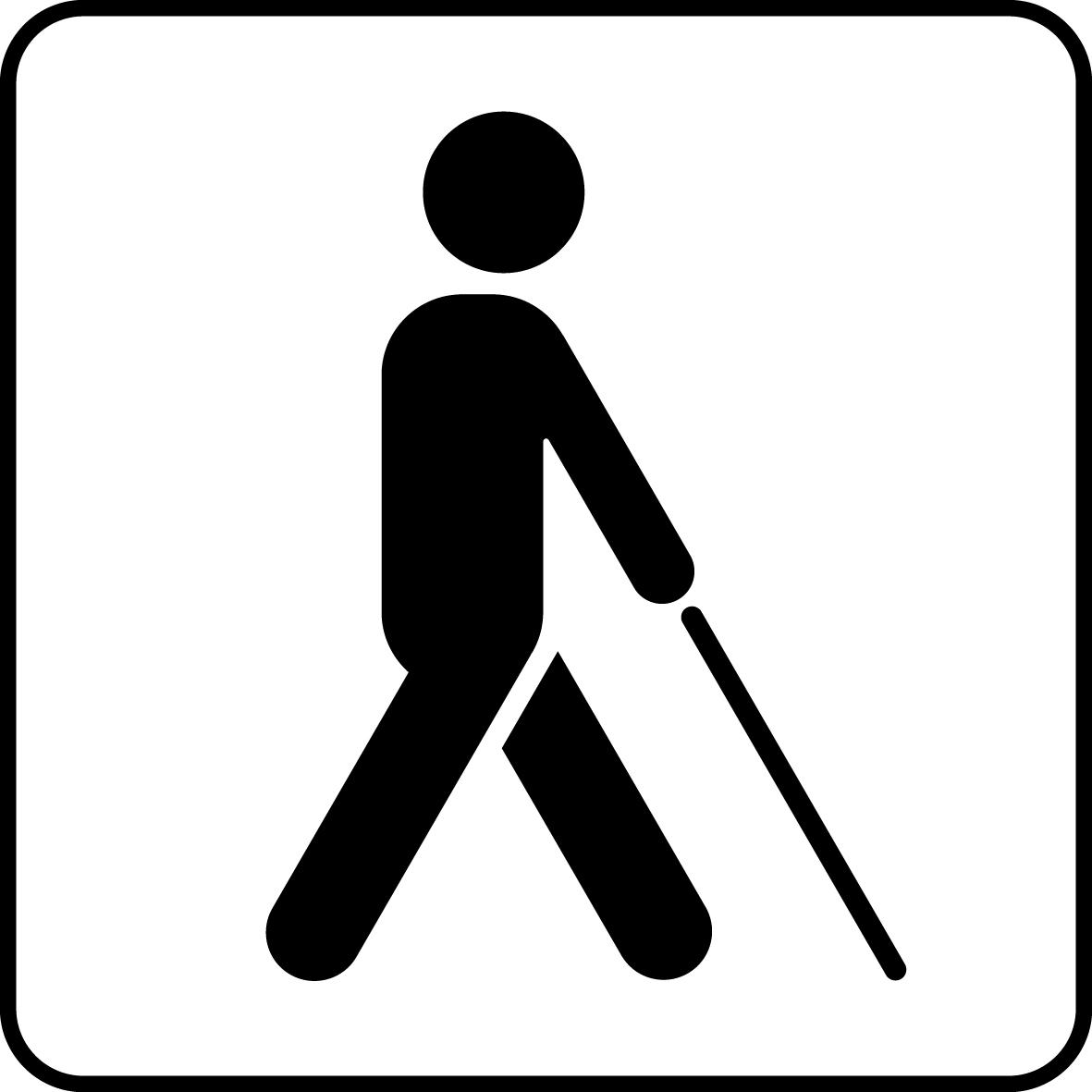Universal Visually Impaired Symbol