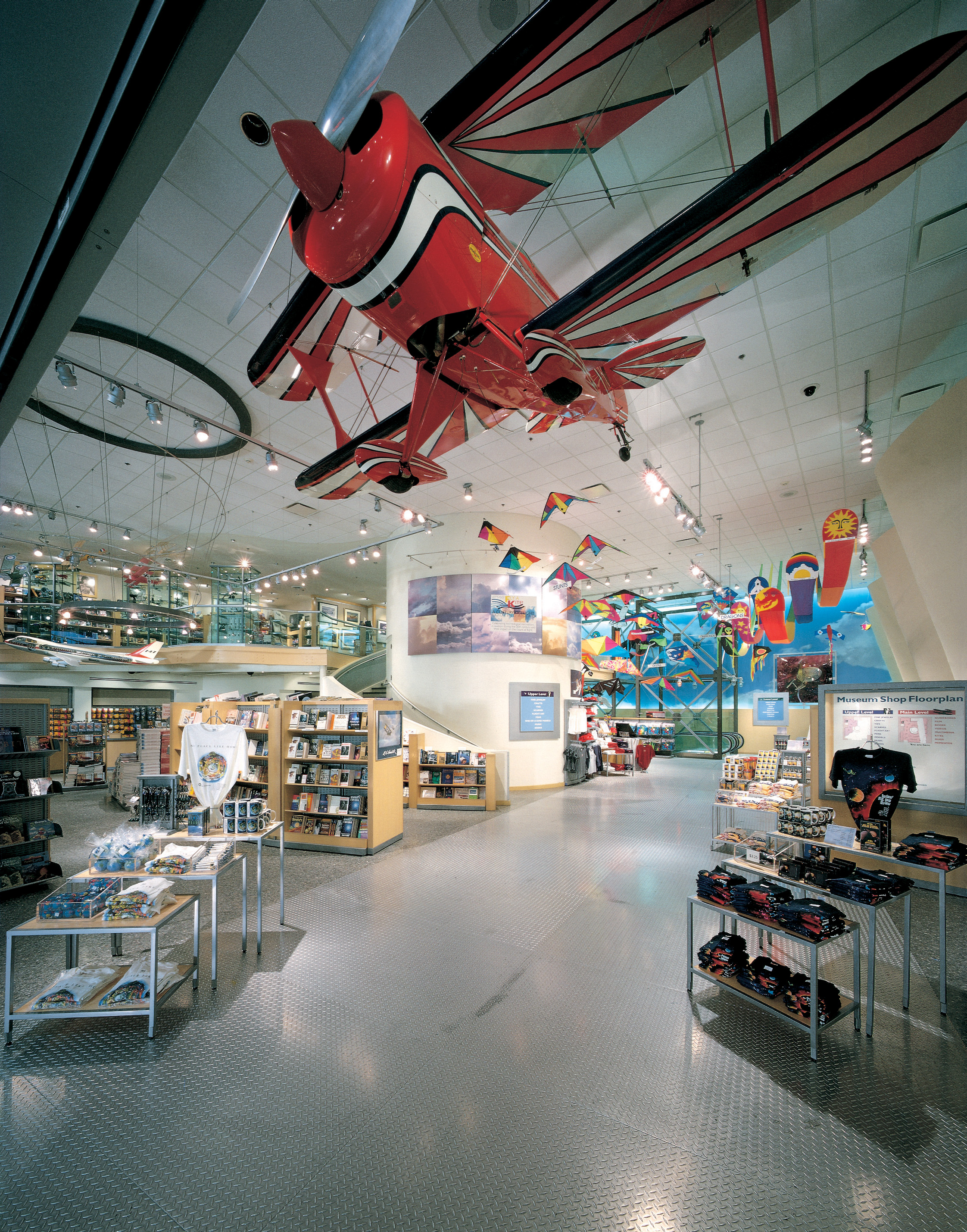 Pitts Special aerobatic airplane in Museum Store