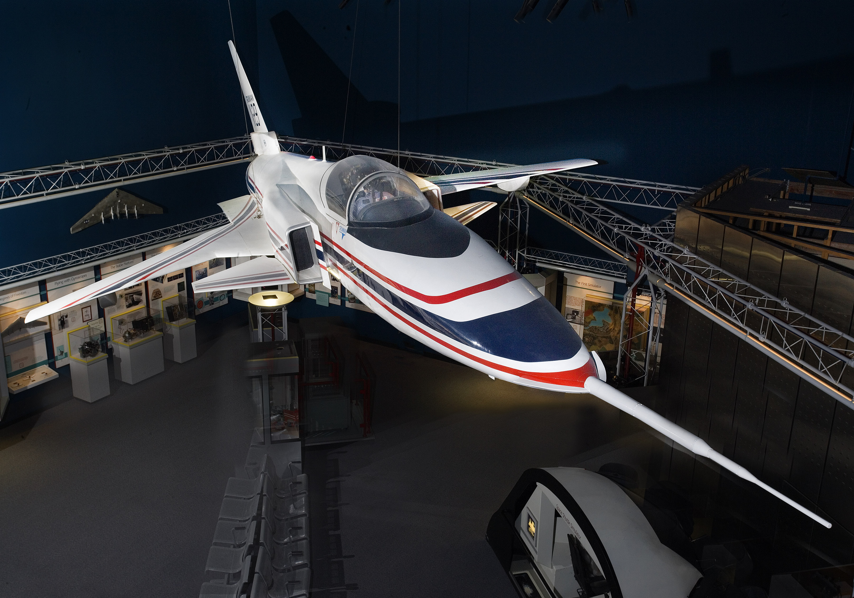 Grumman X-29 full-scale model