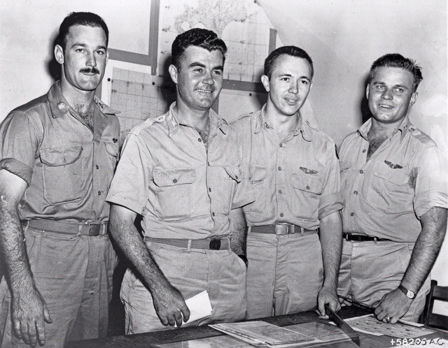Officers of the Enola Gay