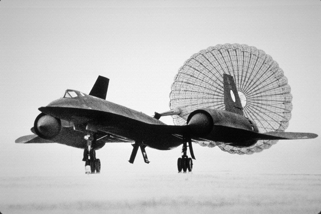 Lockheed SR-71 Blackbird Landing at Dulles