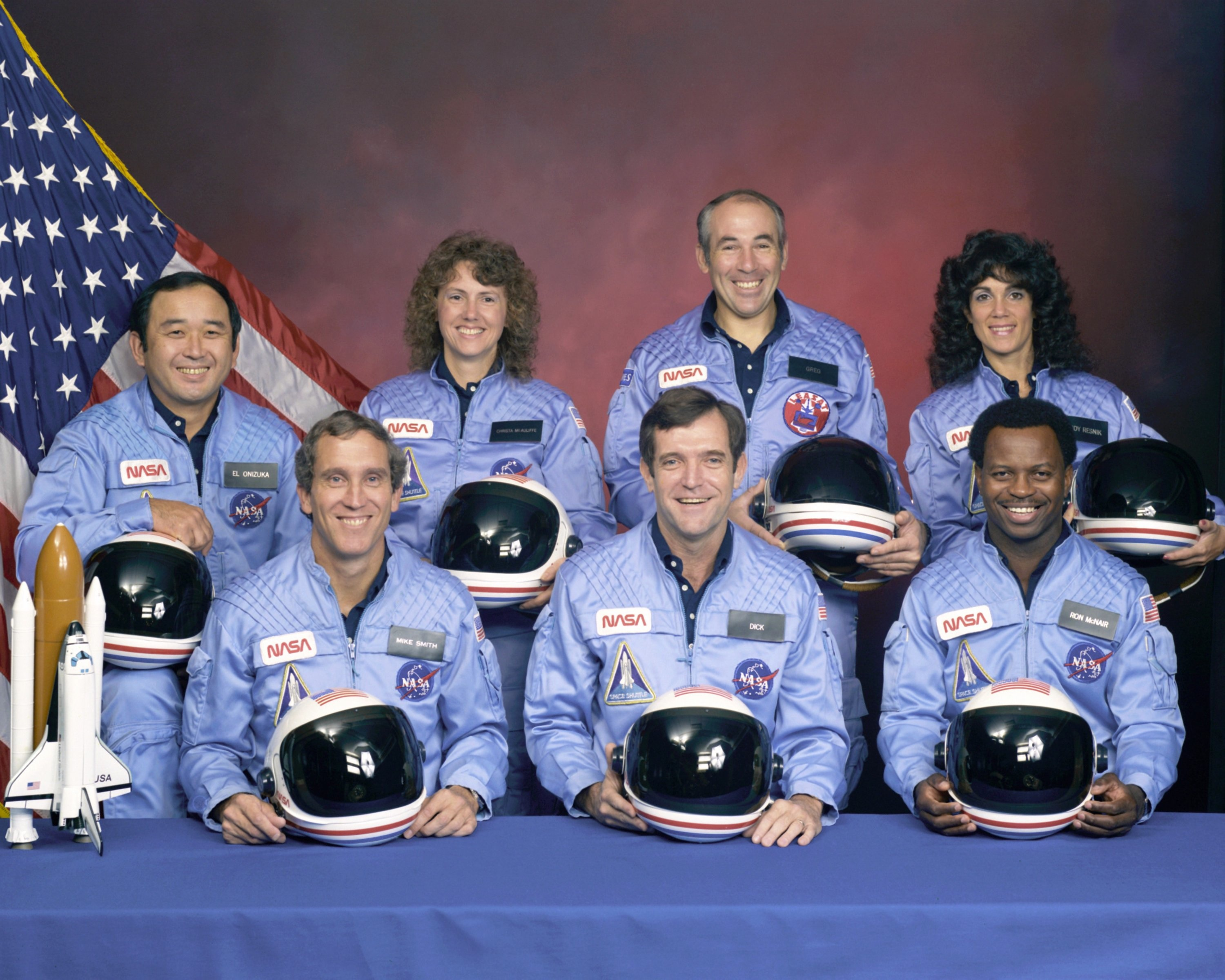 STS 51-L Challenger Crew