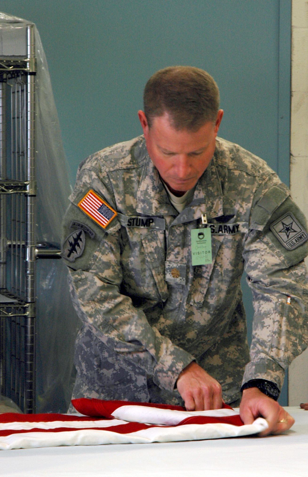 Major Warren R. Stump