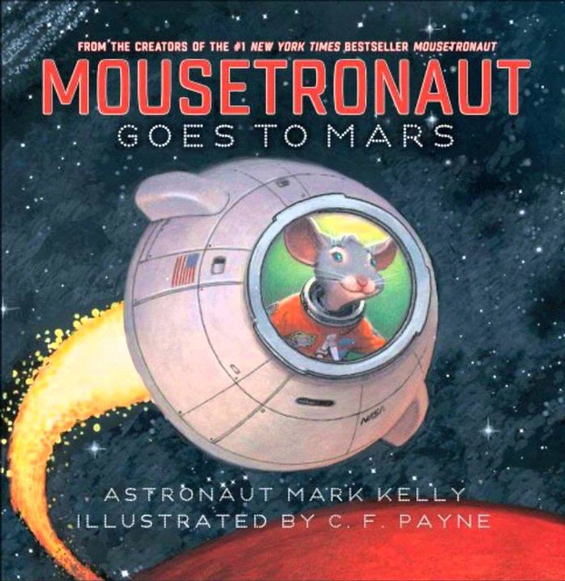 Book Cover: Mousetronaut Goes to Mars