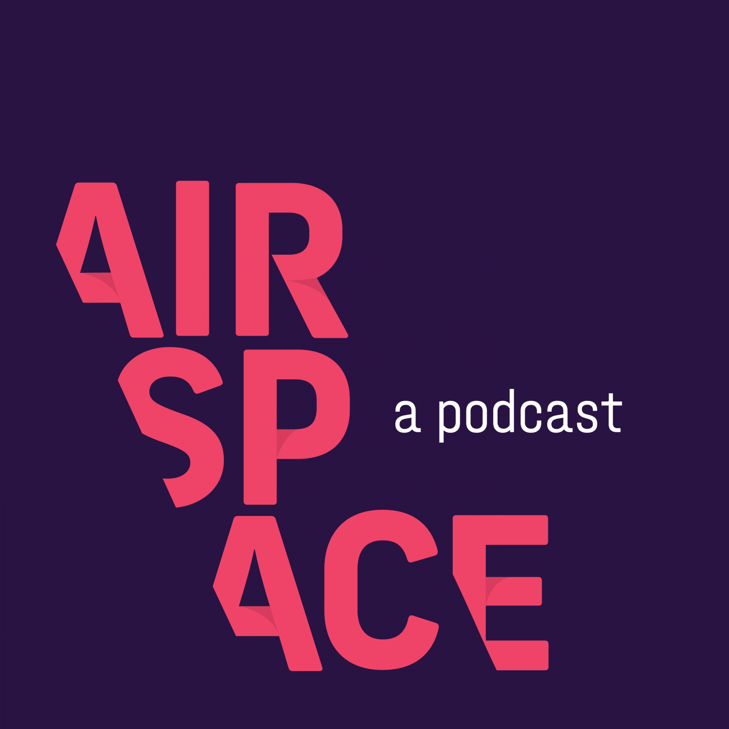 Purple and pink logo of AirSpace