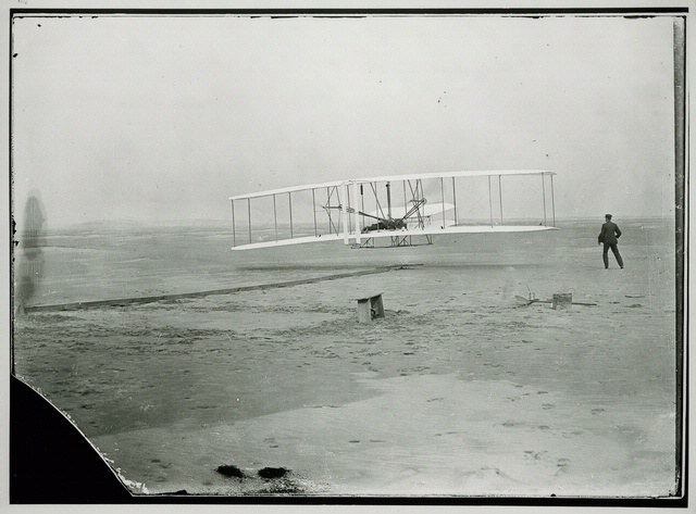 1903 Wright Flyer First Flight, Kitty Hawk, N.C.