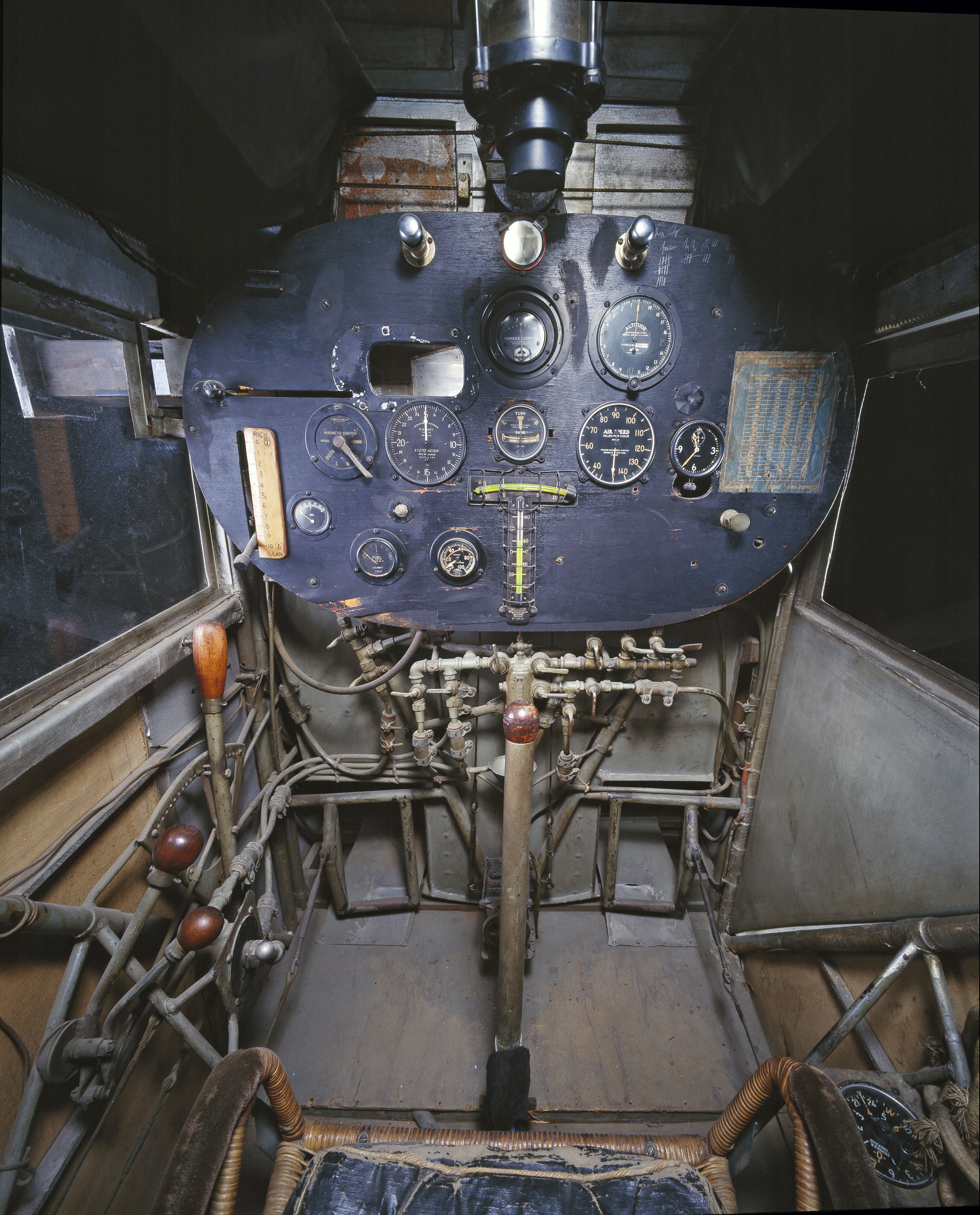 "Ryan NYP ""Spirit of St. Louis"" Cockpit in Boeing Milestones of Flight Hall"