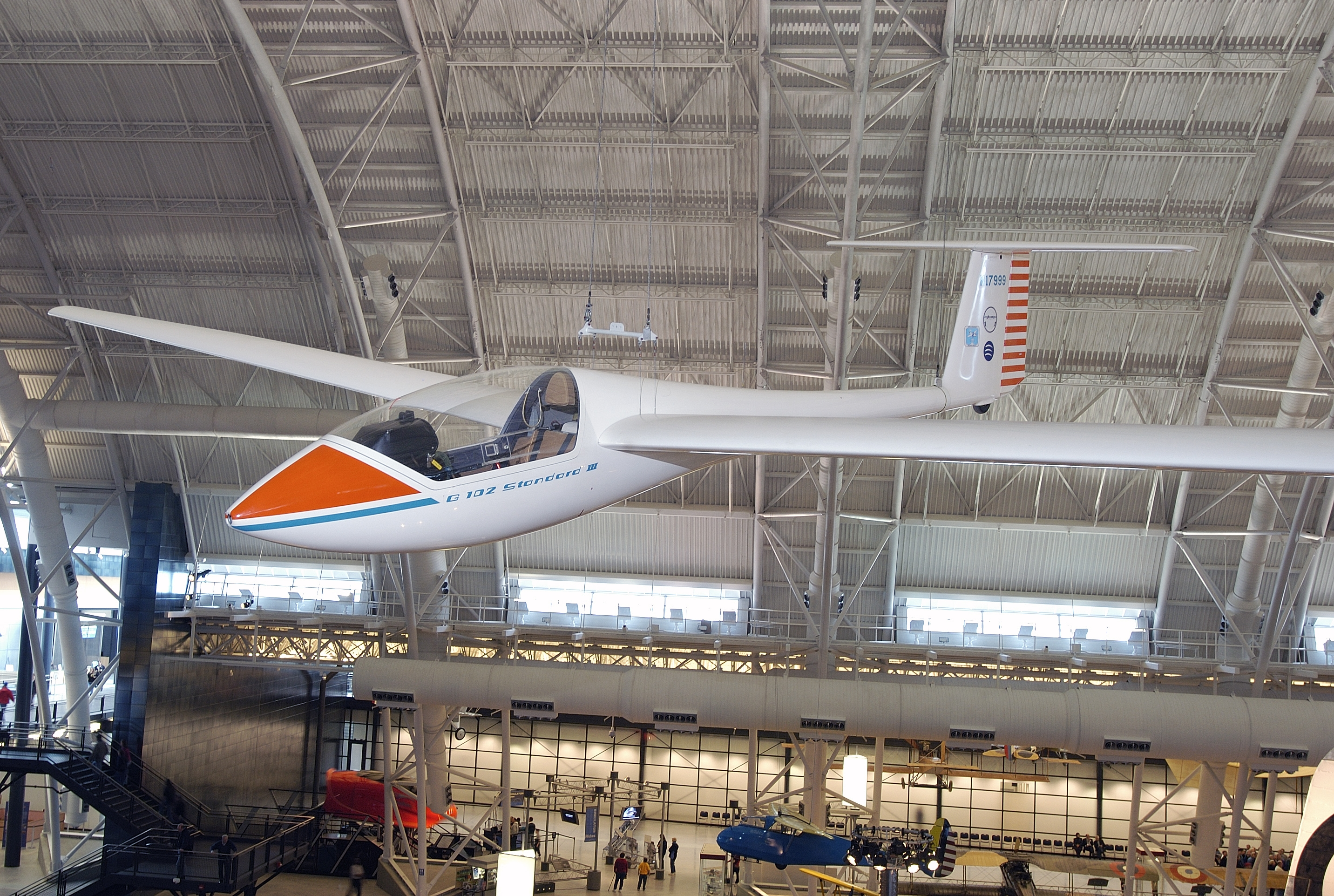 Grob 102 Standard Astir III at the Udvar-Hazy Center