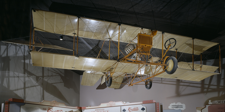 Curtiss Model D Headless Pusher
