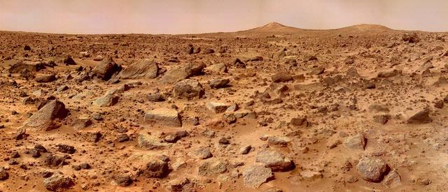 Mars Pathfinder's View of Twin Peaks