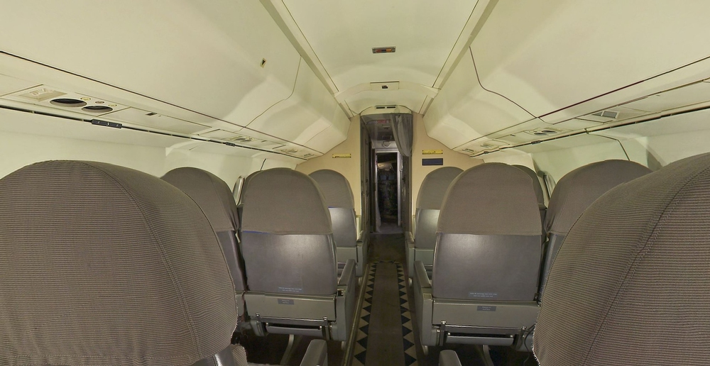 Concorde Cabin Panorama