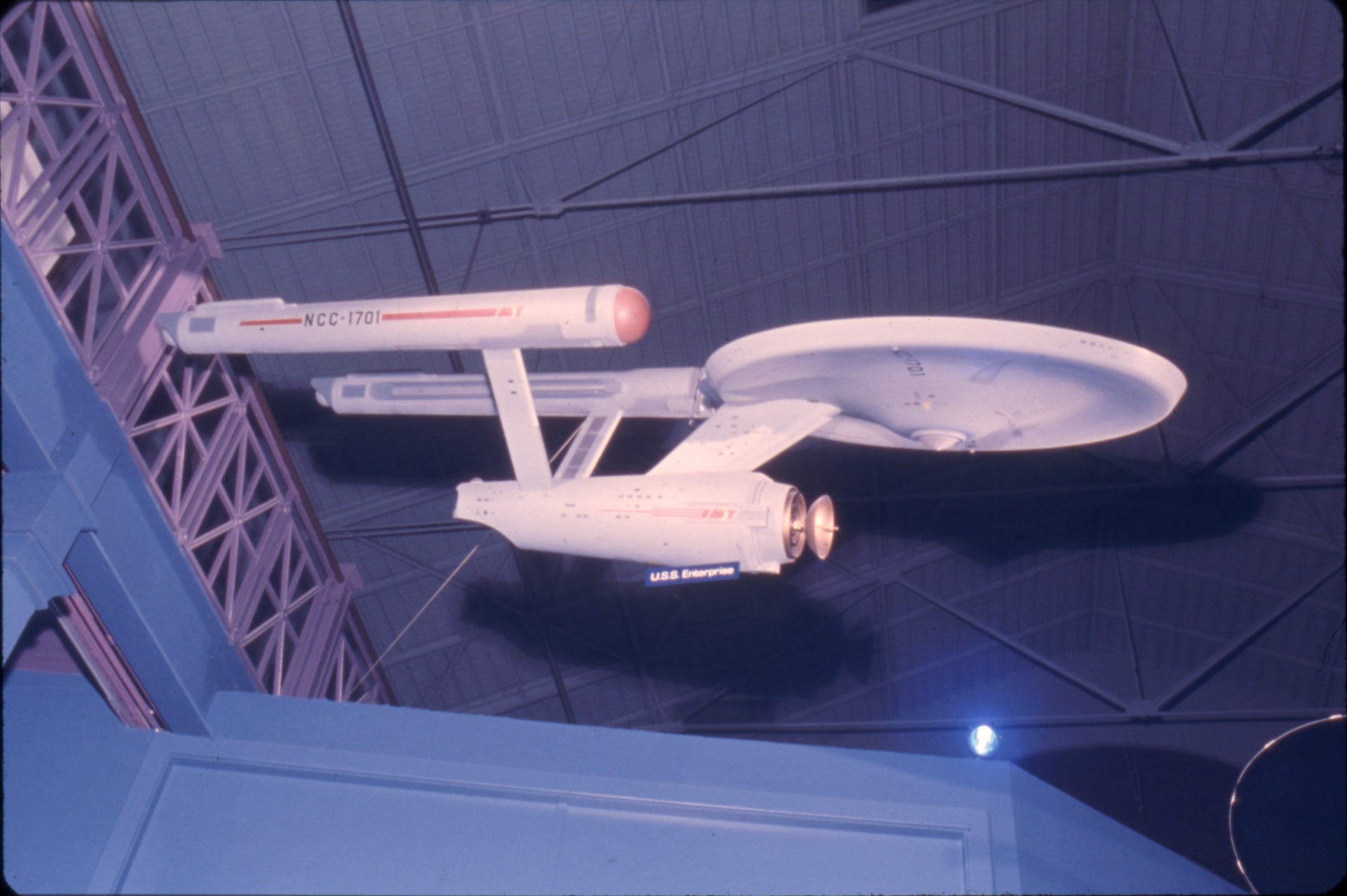 Starship Enterprise Model in 1975