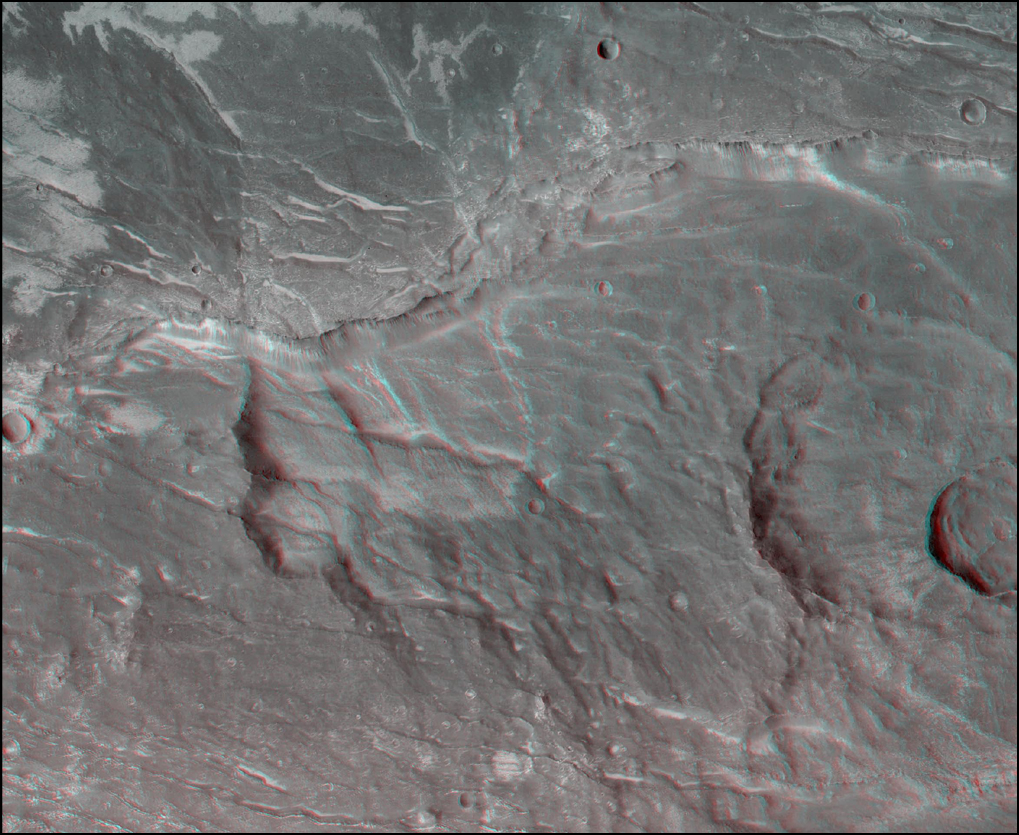 Claritas Fossae Region