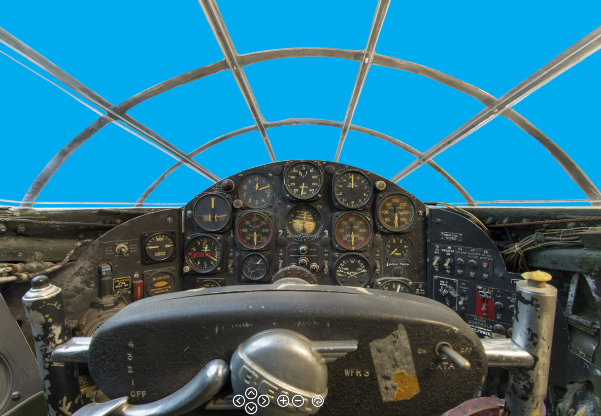 Inside look of Bell X1