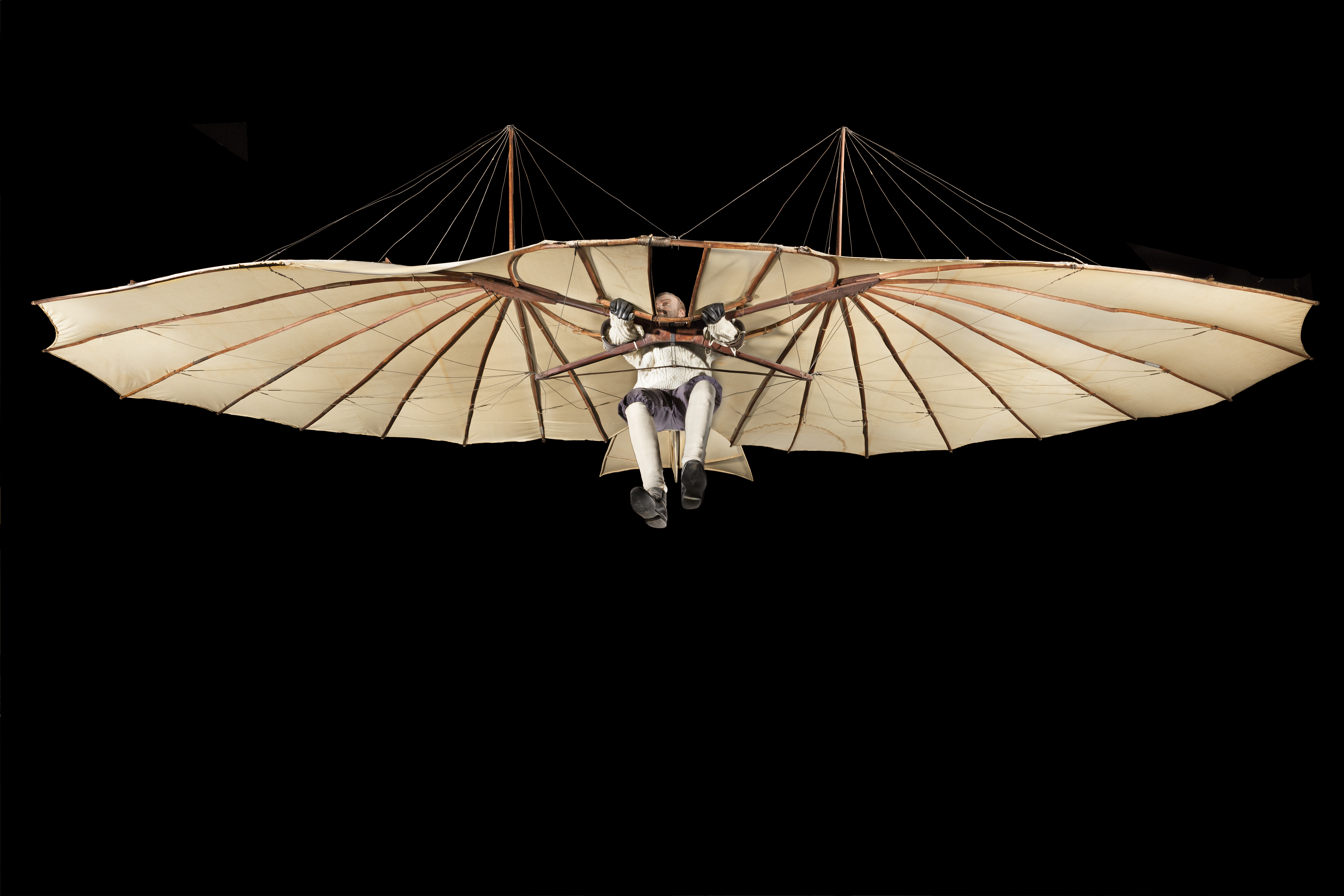 The Lilienthal Glider at the Museum