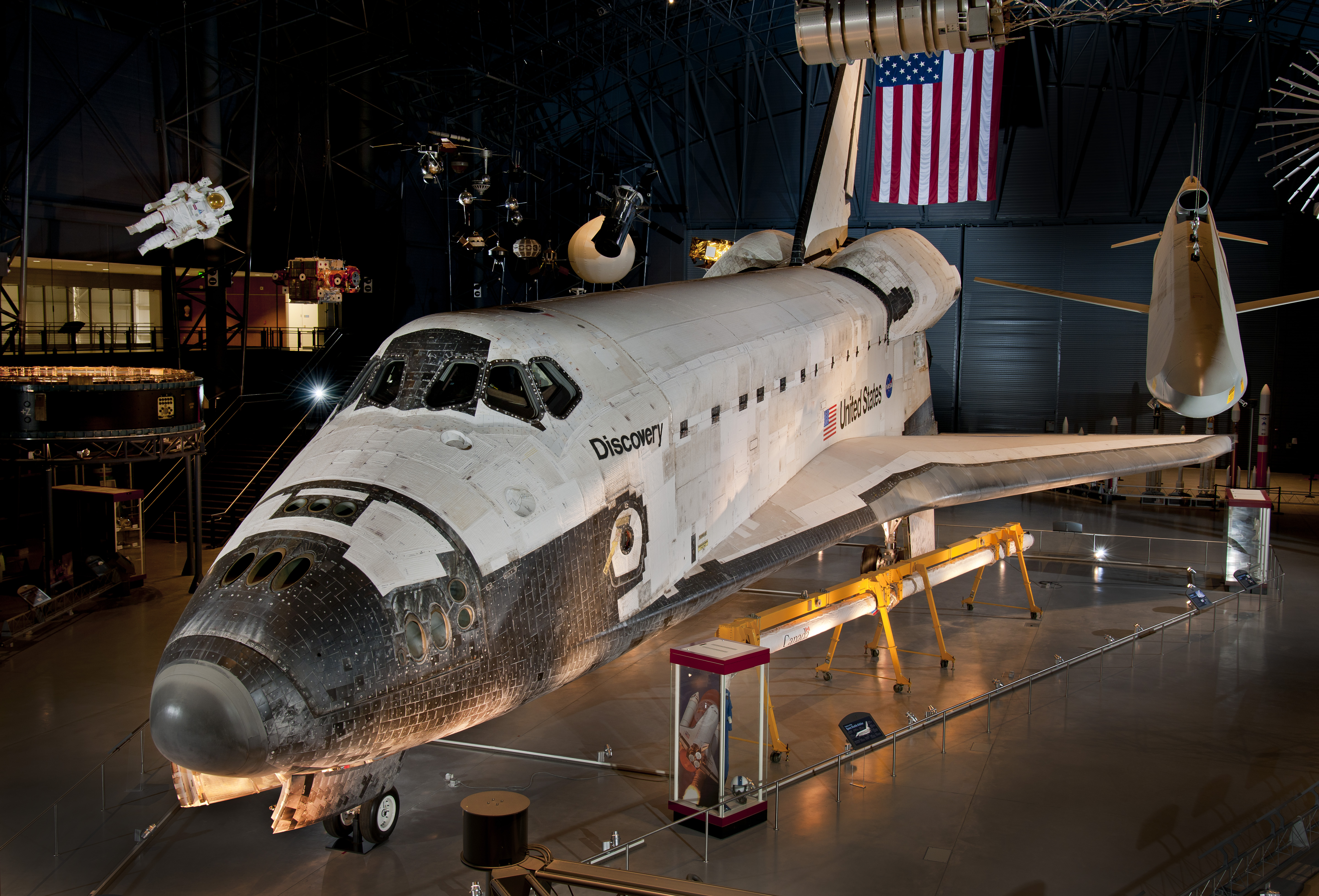 space shuttle discovery - HD5758×3912