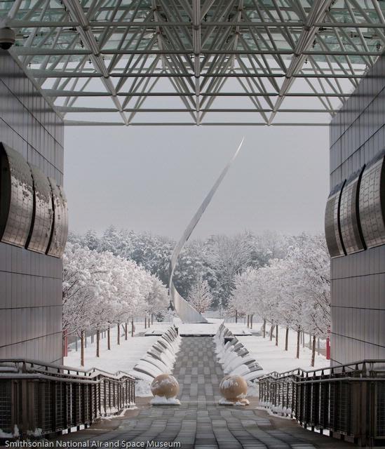 Snowmageddon at the Udvar-Hazy Center