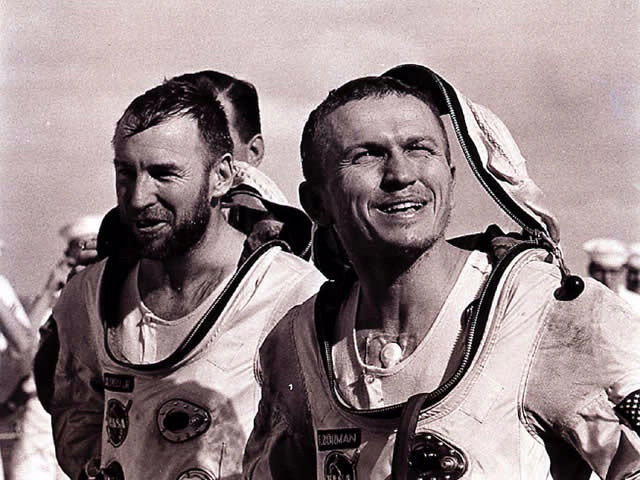 Gemini 7 Borman and Lovell Recovery