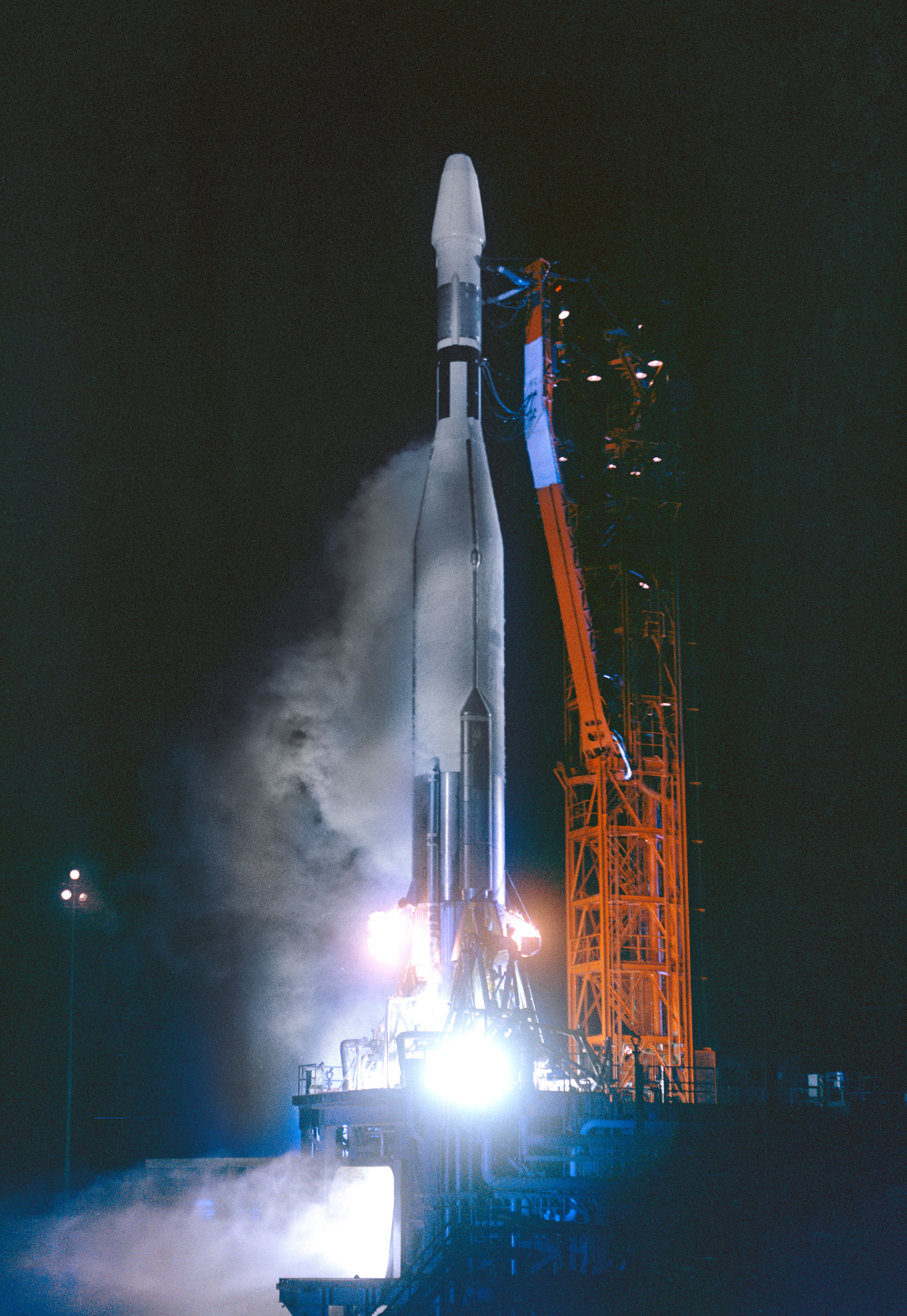 Launch of Mariner 1 before Failure