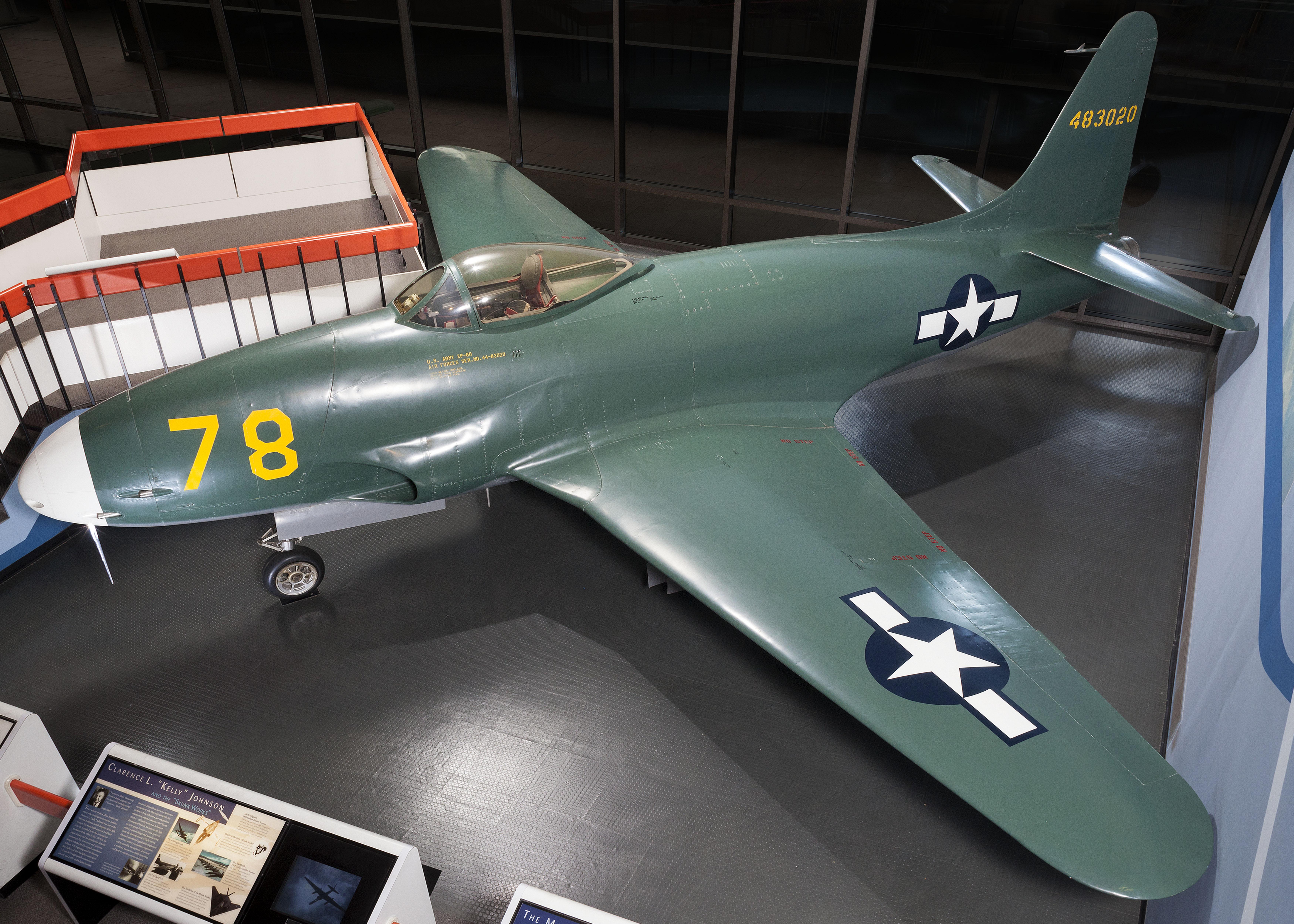Lockheed XP-80 Lulu Belle
